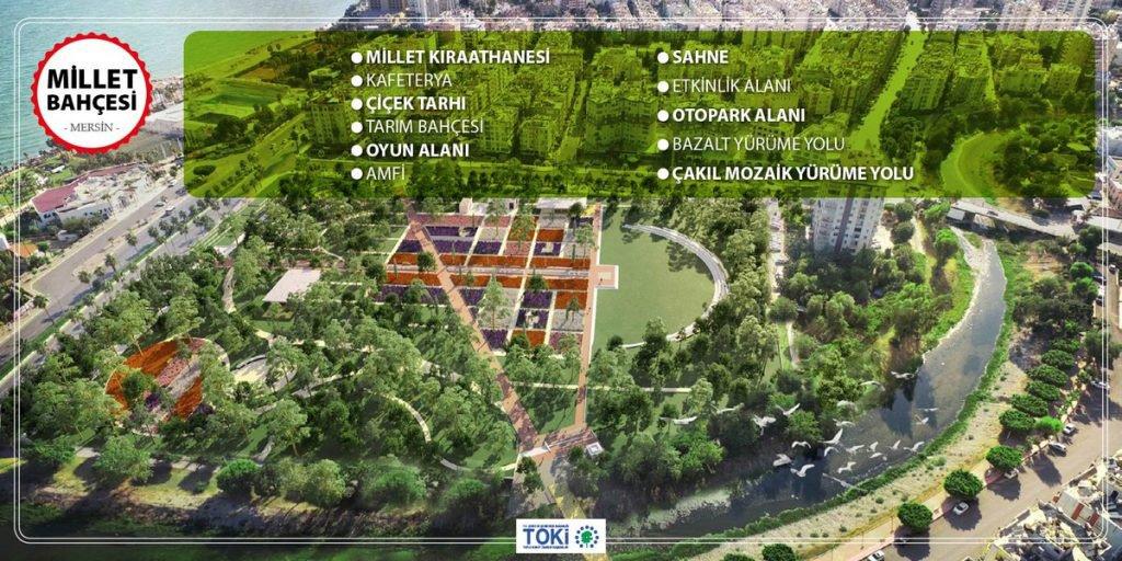 Mersin Millet Bahçesi İhalesi İptal!
