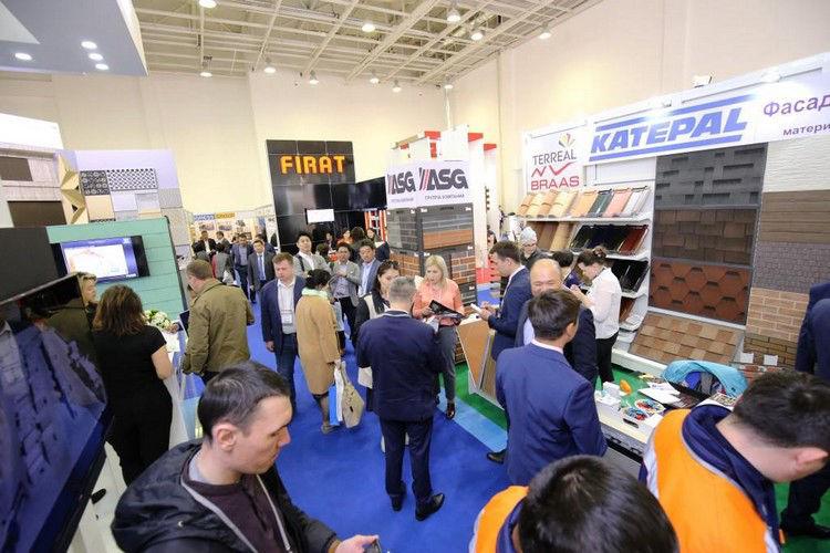 21. Astana İnşaat Malzemeleri Fuarı Açıldı