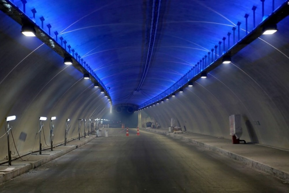 Avrasya Tüneli'nin İçi İlk Kez Görüntülendi