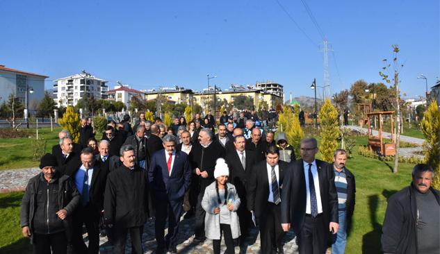 Nazilli Yıldıztepe Botanik Park Açıldı