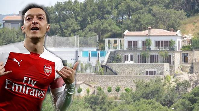 Mesut Özil Çeşme'de10 Milyon TL'ye Villa Yaptı