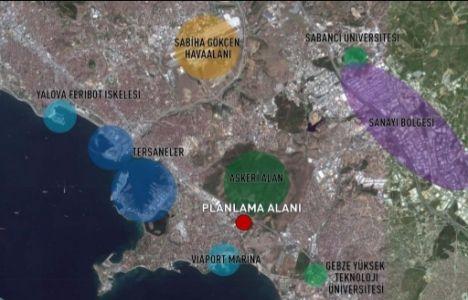 İŞ GYO Tuzla Arsası İmar Planı Askıya Çıktı!