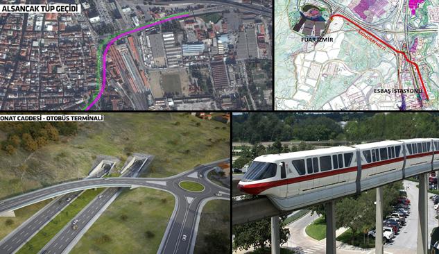 İzmir'in Milyonluk Ulaşım Projeleri