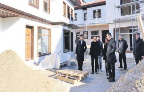 Kırıkkale'deki Tarihi Evler 2017'de Tamamlanacak!