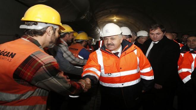 Bakan Arslan Sabuncubeli Tüneli İçin Tarih Verdi