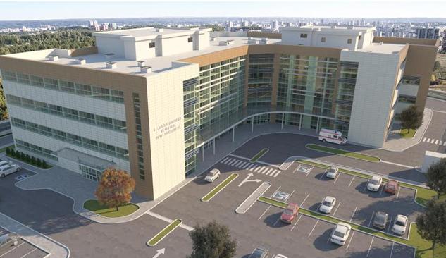 Menderes Devlet Hastanesi İnşaatı Başladı