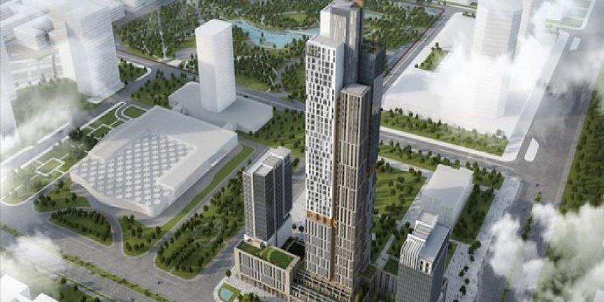 Orta Asya'nın En Yüksek Binasını Türk İnşaat Şirketi Yapacak