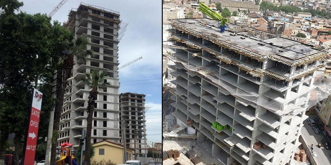 DAP İzmir İnşaatında Son Durum: 21 Kat Derine İndi