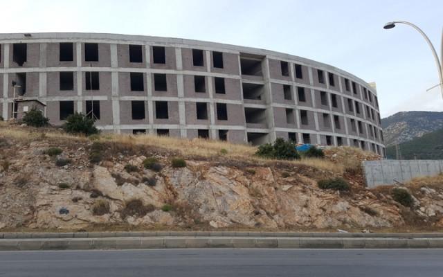 Bodrum Devlet Hastanesi'nin İnşaatında Son Durum