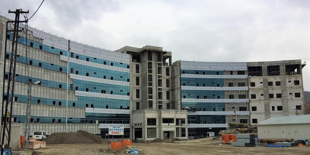 Mamak Devlet Hastanesi İnşaatı Durduruldu