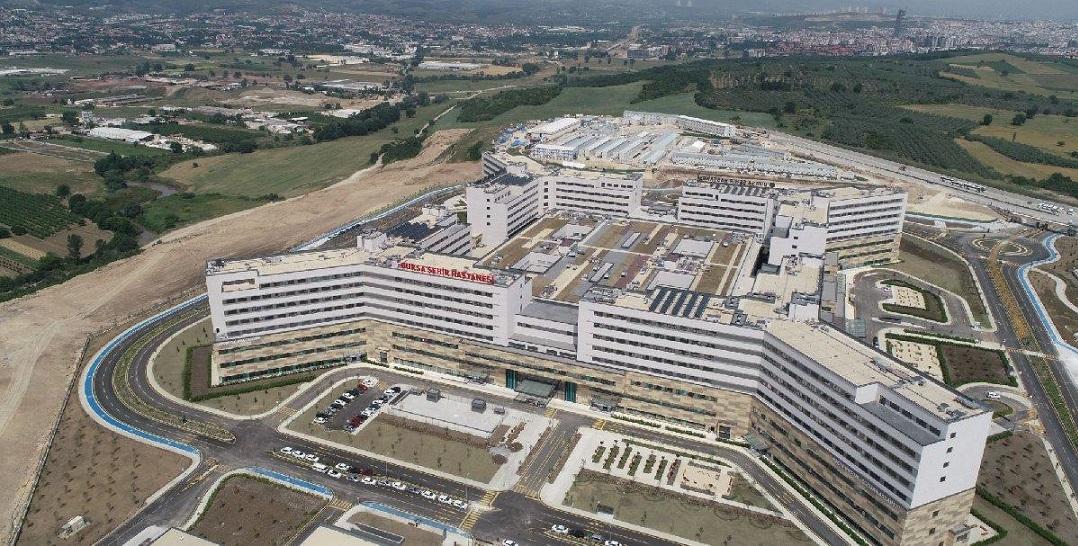 Bursa Şehir Hastanesi Açıldı