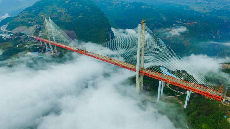 Dünyanın En Yüksek Köprüsü Çin'de Açıldı!