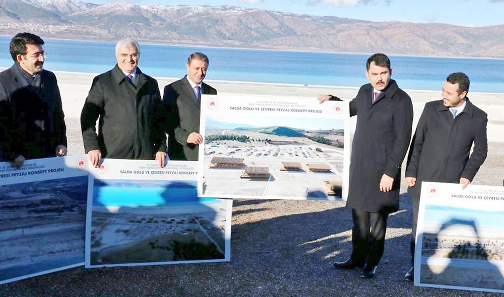 Salda Gölü Millet Bahçesi İhalesine 7 Firmadan Teklif