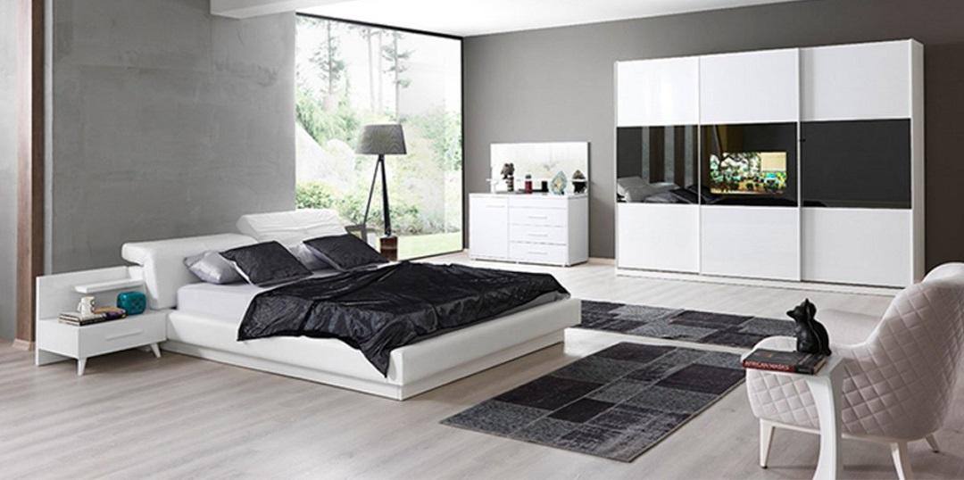 Dingin ve Minimal Yatak Odası Takımı Modelleri