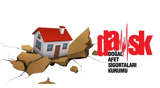 Konutların Yüzde 52'si DASK Deprem Sigortası Yaptırdı
