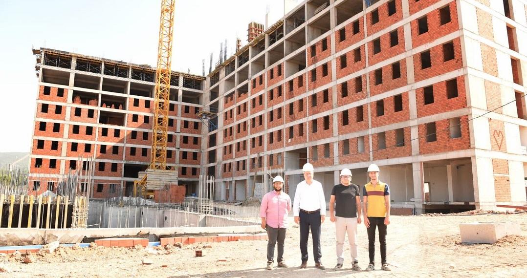 Ege Üniversitesi Öğrenci Yurdu İnşaat 1 Yılda Tamamlanacak