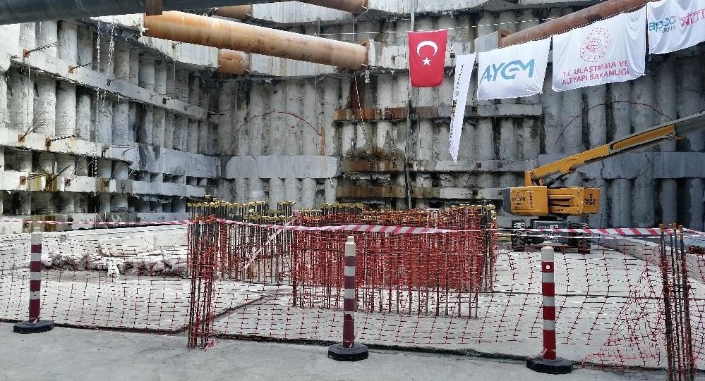 Gayrettepe-İstanbul Havalimanı Metro İnşaatında Son Durum