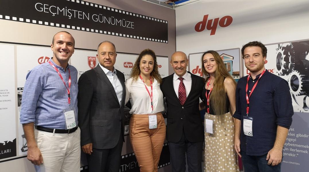 DYO İzmir Enternasyonal Fuarı'nda