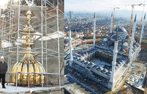 Çamlıca Camisi İnşaatının Yüzde 75'i Bitti