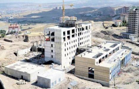 Pursaklar Devlet Hastanesi'nin Yüzde 50'si Tamamlandı!