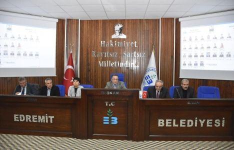 Edremit Belediye Meclisi'nde İmar Görüşüldü