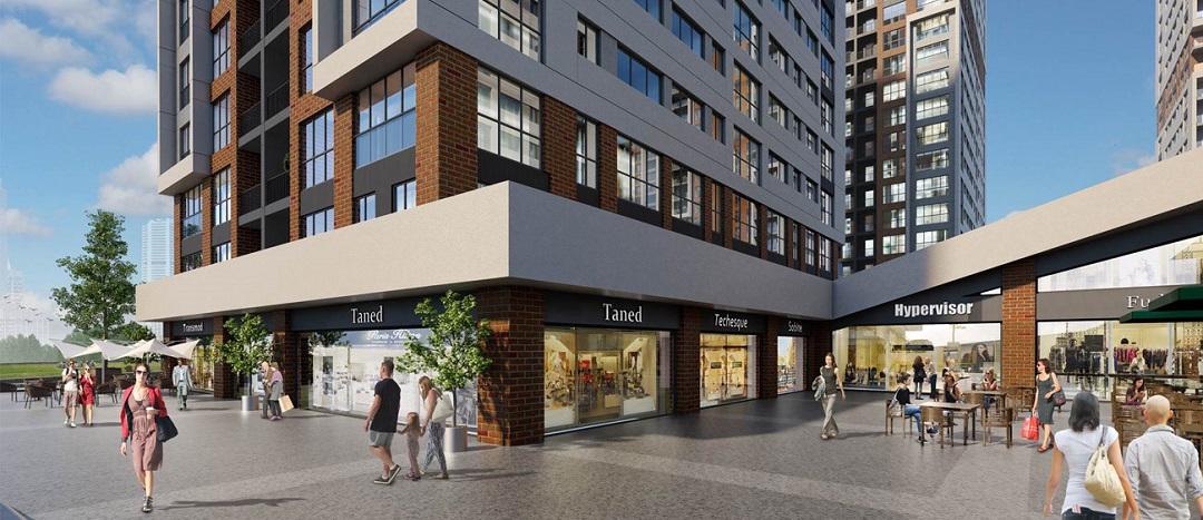 TEM Avrasya Cadde Projesindeki Dükkanlar Satışa Çıktı