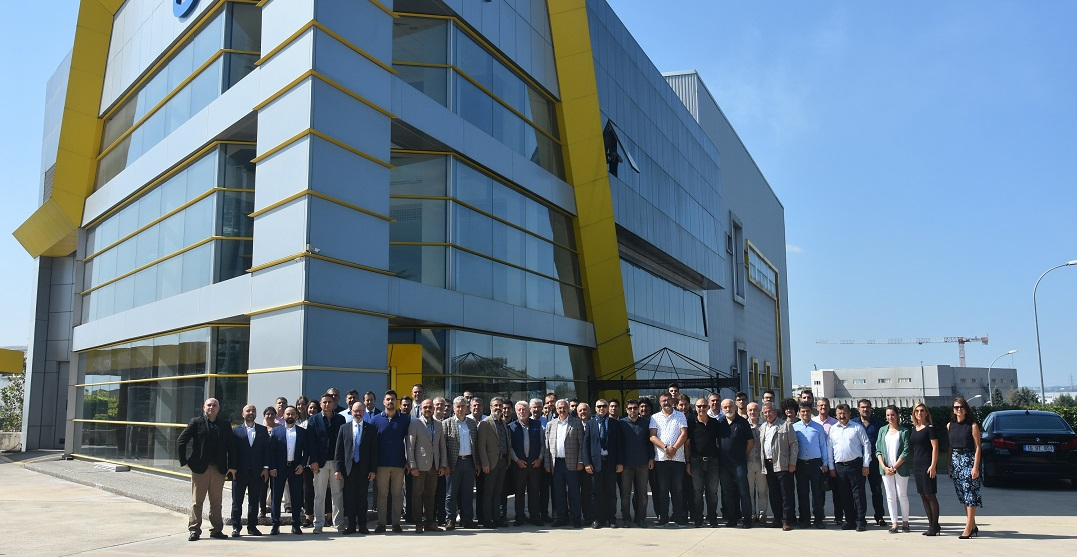 Aktaş Holding İnşaat Müteahhitleri Sanayici ve İş Adamları Derneği'ni Ağırladı