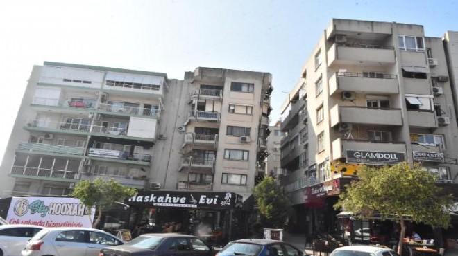 Bostanlı'daki Eğik Binalar Boşaltılıyor
