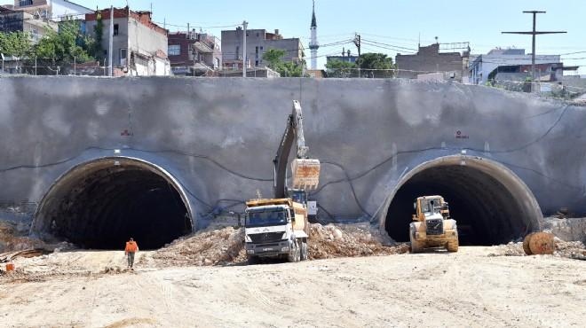 İnşaat Firması Ekonomik Krize Girdi! Buca-Bornova Tünel İnşaatı Durdu