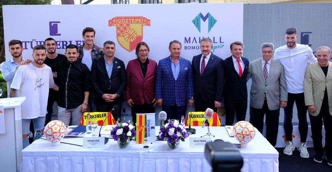 Türkerler Holding ve Göztepe Sponsorluk Anlaşmasını 4. Kez İmzaladı