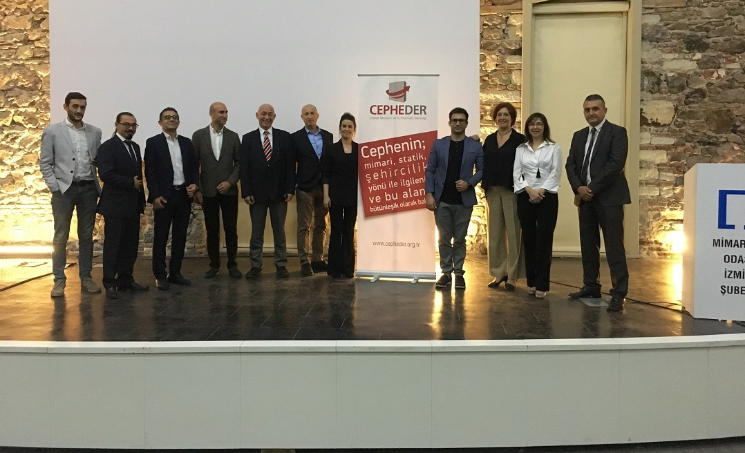 'Yeni Cephe Malzemeleri' İzmir Mimarlar Odası'nda Tanıtıldı