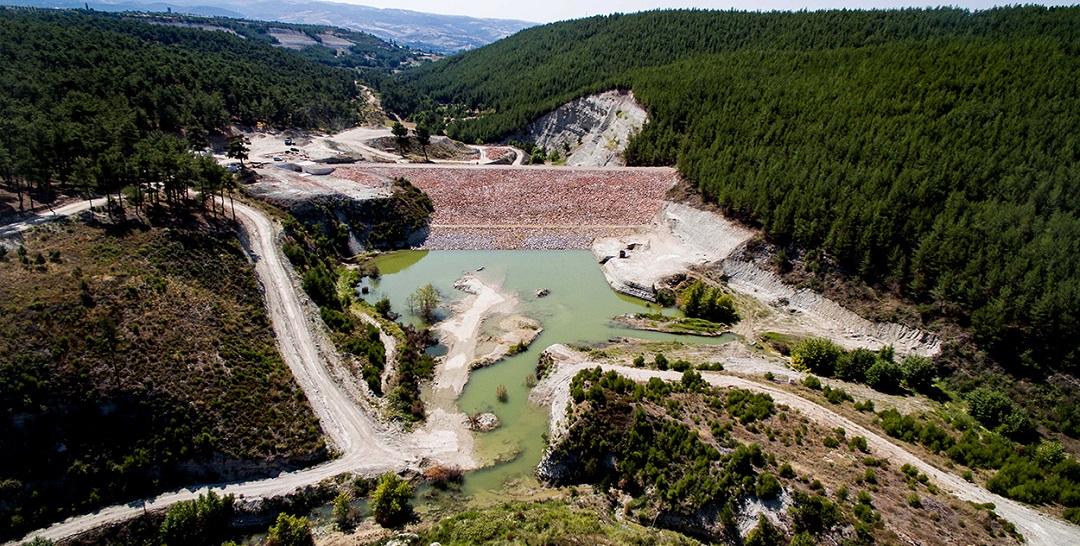 Manisa Karayağcı Barajı'nın Gövde Dolgusu Tamamlandı