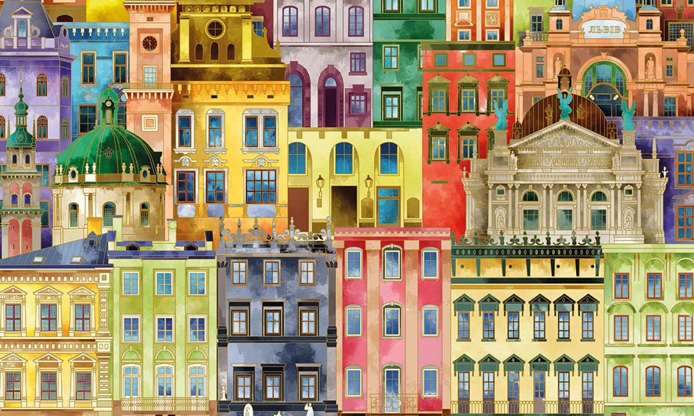 Yapılar Renkle Var Oluyor!