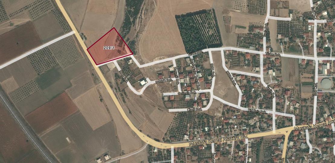 Menderes Belediyesi'nden 9 Milyon TL'ye Satılık Arsa