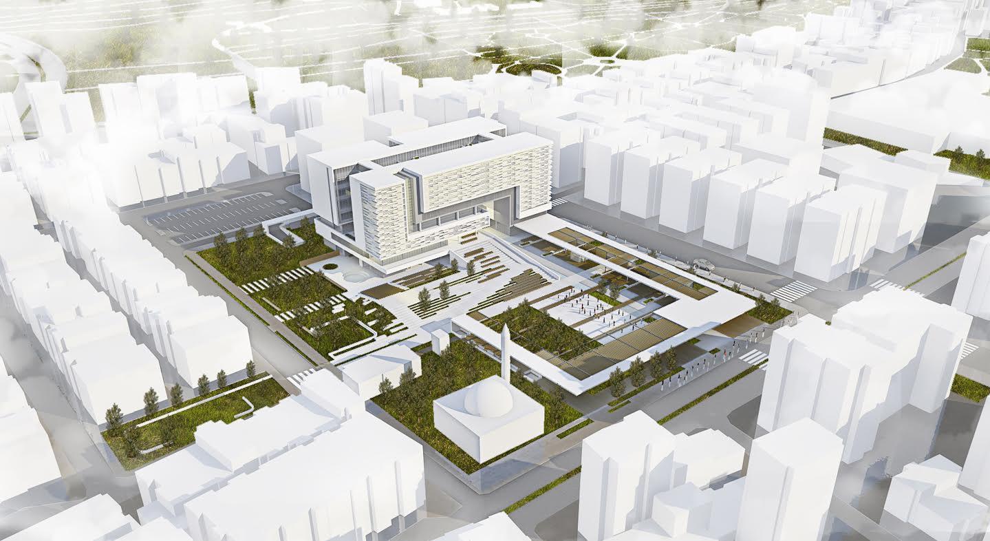Bornova Belediyesi Yeni Hizmet Binası İçin Düğmeye Bastı