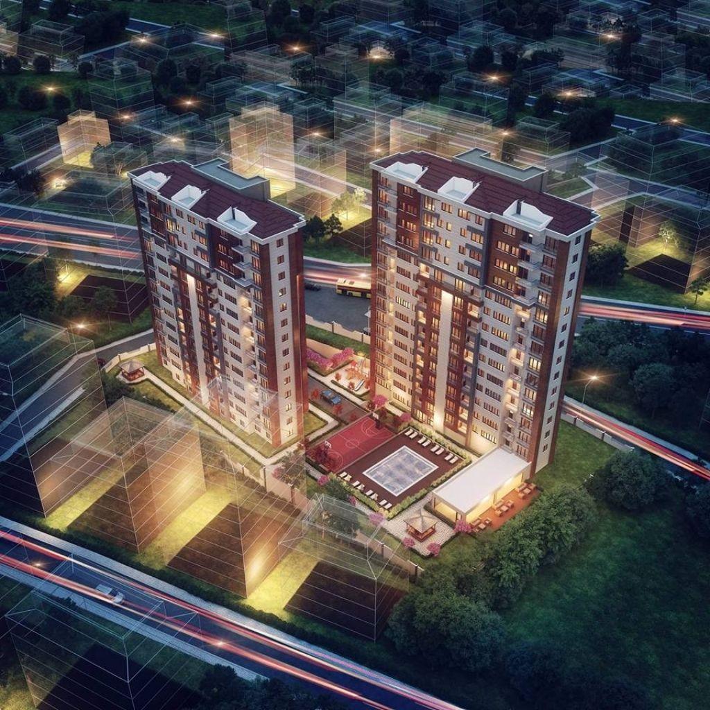 Lilyum Towers Kartal'da Fiyatlar 580 bin TL'den Başlıyor