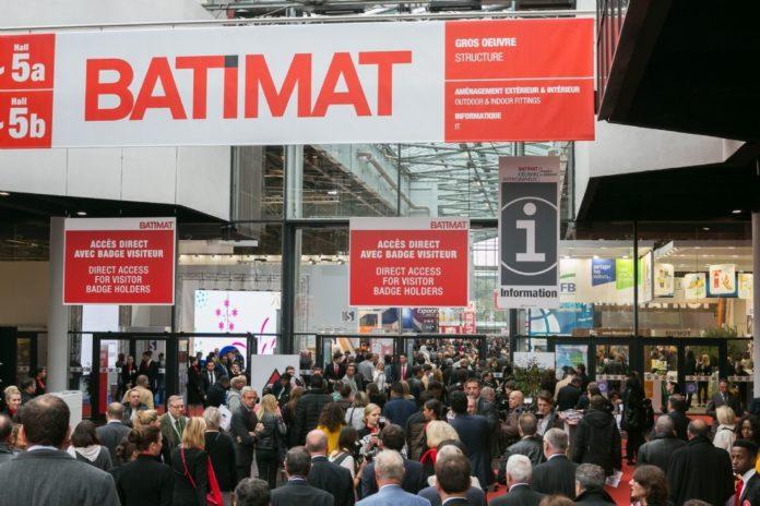 Batimat Paris Fuarı'na Türkiye'den 50  Firma Katıldı