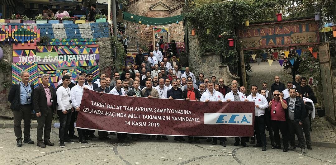 E.C.A. iş Ortaklarını İstanbul'da Ağırladı