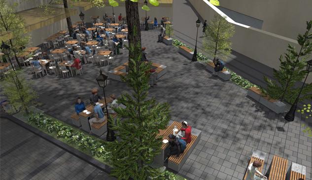 Çınaraltı Parkı'nın Meydanı Modern Bir Park Olacak