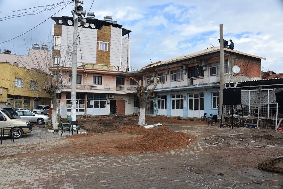 Kemalpaşa Halilbeyli Meydan Düzenlemesi ve Muhtarlık Binası Tadilatı
