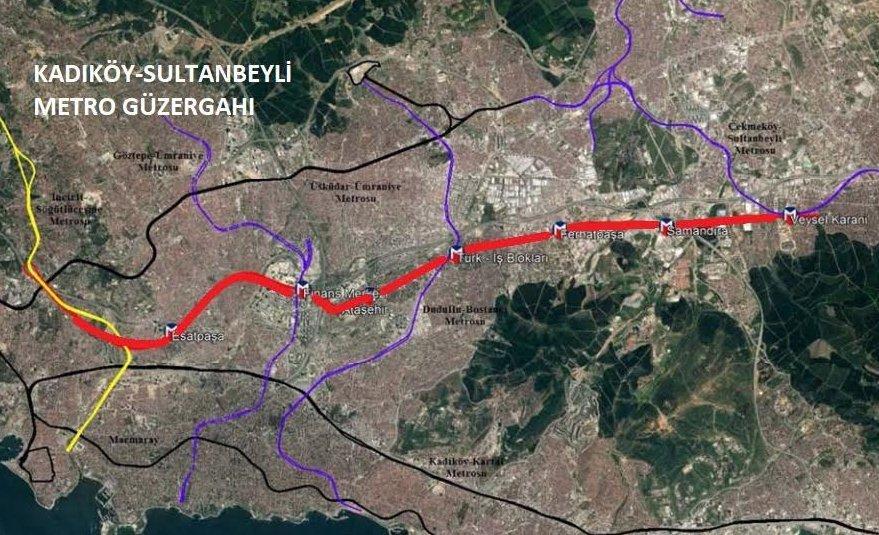 Kadıköy-Sultanbeyli Metro İnşaatı Başlıyor