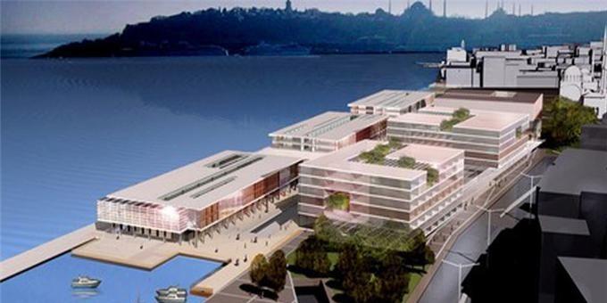 Galataport İstanbul Mayıs 2020'de Açılıyor