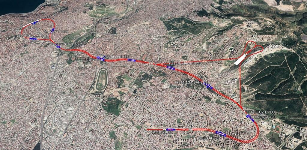 Üçyol - Buca Metrosu İçin 80 Milyon Euroluk İmza Atıldı