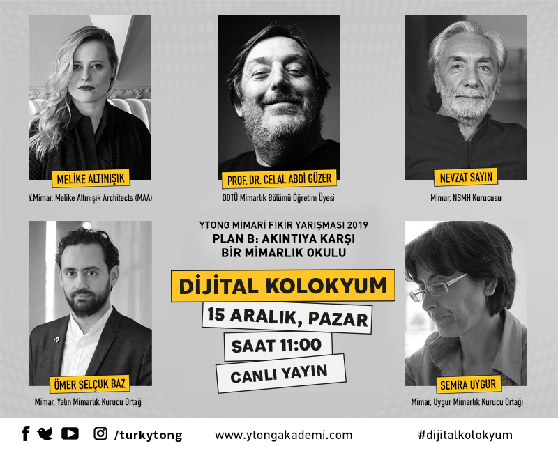 Ytong Mimari Fikir Yarışması Dijital Kolokyum'u 15 Aralıkta