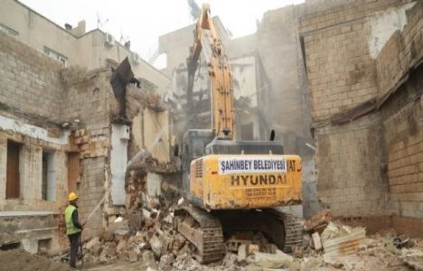 Gaziantep Şıh Meydanı Yıkım Çalışmaları Tamamlandı!