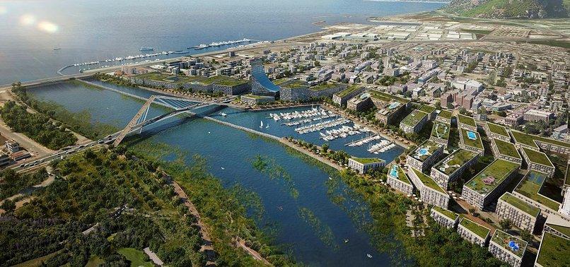 Kanal İstanbul'da Yatay Mimari ve Yeşil Koridor Olacak