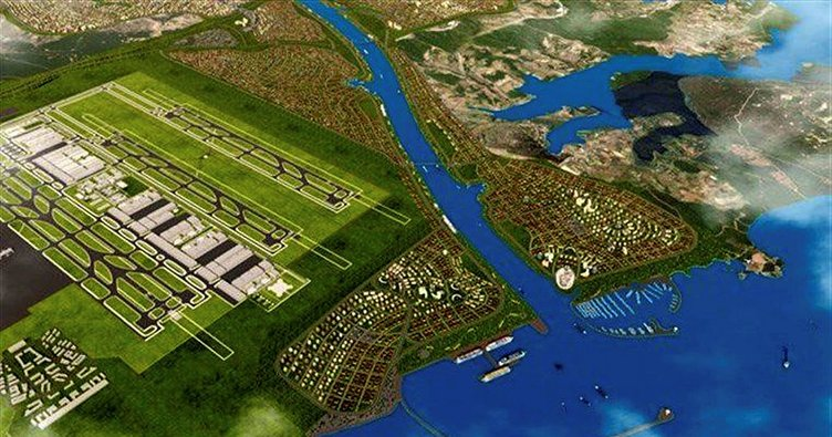 Kanal İstanbul'da 150'şer Metre Boyunca Yapılaşma Olmayacak