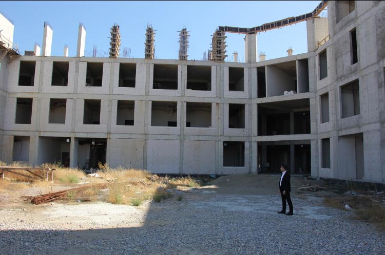 Menderes Devlet Hastanesi İnşaatı Tekrar Başladı