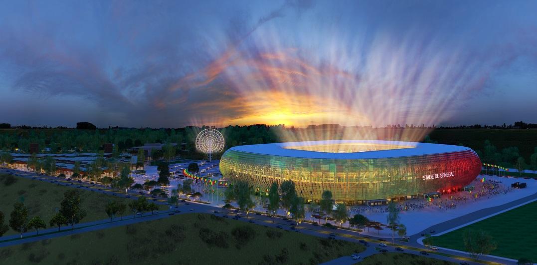 Senegal Olimpiyat Stadyumu'nda Tasarımı Tabanlıoğlu Mimarlık'tan