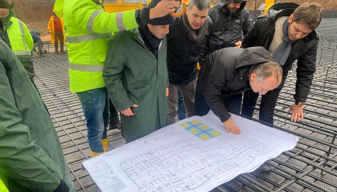 TOKİ Başkanı Elazığ'da Deprem Konutları İnşaatını İnceledi